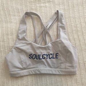 Soul cycle lululemon sports bra